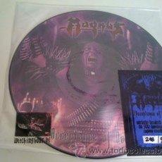 Discos de vinilo: MAGNUS - ACCEPTANCE OF DEATH-PICTURE LP. Lote 42999472