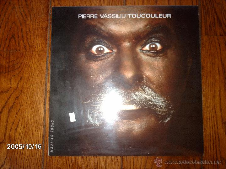 PIERRE VASSILIU - TOUCOULEUR + LES CREPULES DU CREPUSCULE (Música - Discos de Vinilo - Maxi Singles - Cantautores Internacionales)