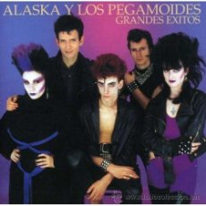 Discos de vinilo: LP ALASKA Y LOS PEGAMOIDES GRANDES EXITOS VINILO MORADO RSD 2014 MOVIDA RECORD STORE D. Lote 115551416
