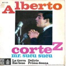 Discos de vinilo: ALBERTO CORTEZ, EP, LA TIERRA (CHARIOT) + 3, AÑO 1962. Lote 43011936