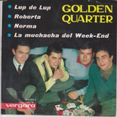 Discos de vinilo: GOLDEN QUARTER - LUP DE LUP - LA MUCHACHA DEL WEEK END + 2 - EP SPAIN 1964 VG++ / VG++. Lote 43012357