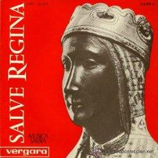 Discos de vinilo: SALVE REGINA - ESCOLANÍA DE MONTSERRAT - 1963. Lote 43018730