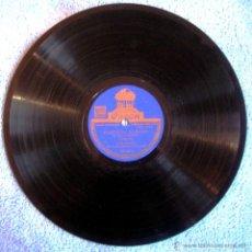 Discos de vinilo: DISCO 78 RPM PIZARRA. LOLA CABELLO - PARESITO FARAON,GARROTIN- GLORIA LA GITANA,ZAMBRA FANDANGUILLOS. Lote 43019939