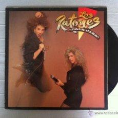 Discos de vinilo: LP LOS RATONES-DALE CAÑA-1989. Lote 43023635