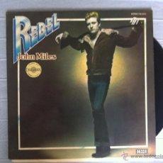Discos de vinilo: LP JOHN MILES-REBEL-ESPAÑA 1976. Lote 43023743