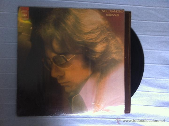 LP NEIL DIAMOND-SERENADE-ESPAÑA 1974 (Música - Discos de Vinilo - EPs - Pop - Rock Extranjero de los 70)