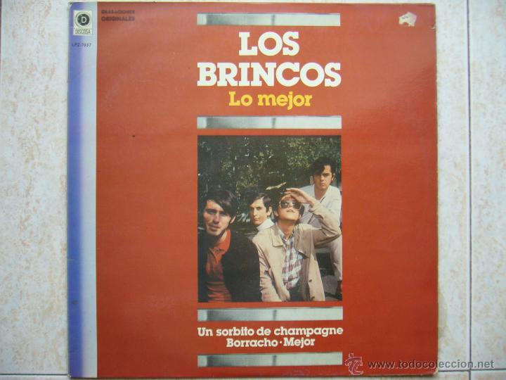 LOS BRINCOS - LO MEJOR (Música - Discos - LP Vinilo - Grupos Españoles 50 y 60)