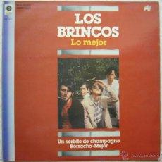 Discos de vinilo: LOS BRINCOS - LO MEJOR. Lote 43024371