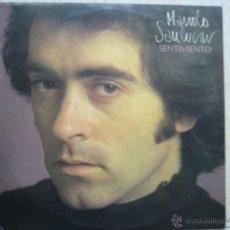 Discos de vinilo: MANOLO SANLUCAR - SENTIMIENTO. Lote 43024623