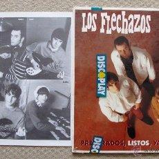 Discos de vinilo: LOS FLECHAZOS LP VINILO ORIGINAL REVIVAL MOD PREPARADOS, LISTOS, YA!. Lote 43026299