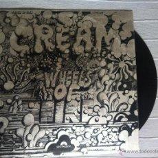 Discos de vinilo: LP CREAM-WHEELS OF FIRE-UK 1968-POLYDOR. Lote 43026674