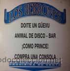 LOS BERRONES (MAXI-SINGLE) (ZAFIRO 1993) (Música - Discos de Vinilo - Maxi Singles - Grupos Españoles de los 90 a la actualidad)