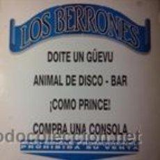 Discos de vinilo: LOS BERRONES (MAXI-SINGLE) (ZAFIRO 1993). Lote 43026833