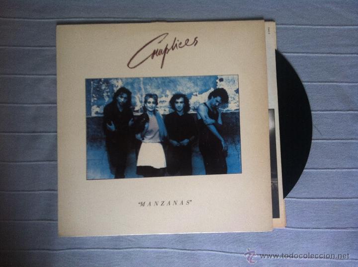 LP COMPLICES-MANZANAS (Música - Discos - LP Vinilo - Grupos Españoles de los 70 y 80)