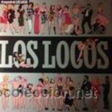 Discos de vinilo: LOS LOCOS EL SEGUNDO DE LOS LOCOS (EL COHETE 1988). Lote 43027204
