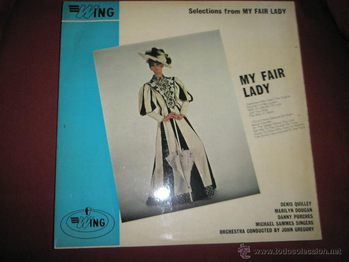 LP-VINILO-GRAN BRETAÑA-MY FAIR LADY-1965-WING-. (Música - Discos - LP Vinilo - Bandas Sonoras y Música de Actores )