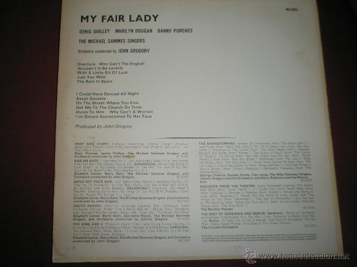 Discos de vinilo: LP-VINILO-GRAN BRETAÑA-MY FAIR LADY-1965-WING-. - Foto 2 - 43036415