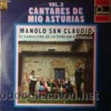 Discos de vinilo: MANOLO SAN CLAUDIO CANTARES DE MIO ASTURIAS-VOL.2 (FONTANA 1972). Lote 43036698