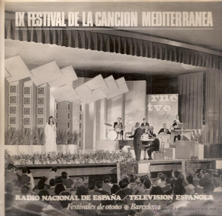 SALOME, DOVA, BETINA, ETC (IX FESTIVAL DE LA CANCION MEDITERRANEA (LP) RNE/TVE 1967 - VG+/EX++ (Música - Discos - LP Vinilo - Otros Festivales de la Canción)