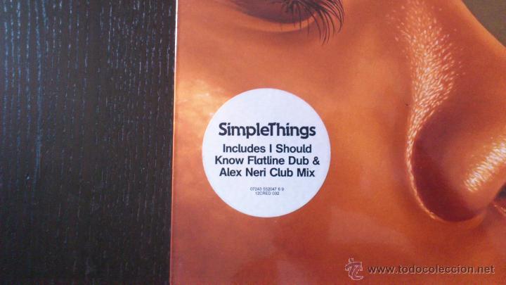 Discos de vinilo: DIRTY VEGAS - SIMPLE THINGS - MAXI SINGLE VINILO 12 - 3 TRACKS - 2003 - Foto 2 - 43042279