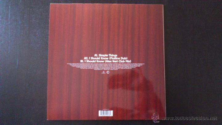 Discos de vinilo: DIRTY VEGAS - SIMPLE THINGS - MAXI SINGLE VINILO 12 - 3 TRACKS - 2003 - Foto 3 - 43042279