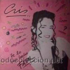 Discos de vinilo: CRISTINA DEL VALLE TE LO HAS HECHO FATAL (WEA 1987). Lote 43042456