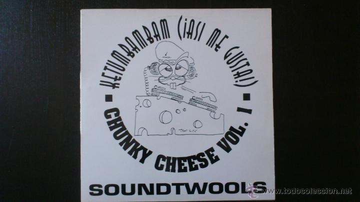 SOUNDTWOOLS - CHUNKY CHEESE VOL. 1 - MAXI VINILO 12 - 3 TRACKS - 1995 - ARIOLA (Música - Discos de Vinilo - Maxi Singles - Disco y Dance)