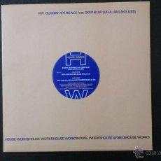 Discos de vinilo: HOUSE WORKS - BUGGIN XPERIENCE - DEEP BLUE - UR A LIAR AKA LIES - VINILO - 2005. Lote 43042805