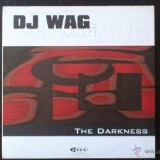 Discos de vinilo: DJ WAG - THE DARKNESS - MAXI VINILO - YAKOOZA REMIX - VALE MUSIC - 2002. Lote 43045363