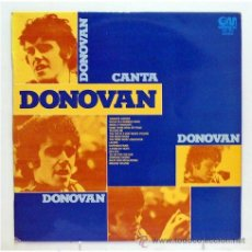 Discos de vinilo: DONOVAN - 'CANTA DONOVAN' (LP VINILO. ORIGINAL 1975). Lote 43047892