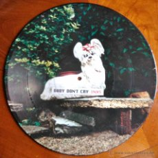 Discos de vinilo: INXS, BABY DON'T CRY - MAXI SINGLE PICTURE DISC. Lote 43048889