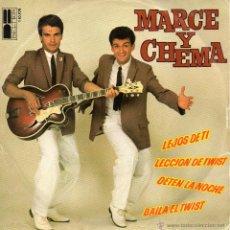 Discos de vinilo: MARCE Y CHEMA, EP, LECCION DE TWIST + 3, AÑO 1980. Lote 43049374