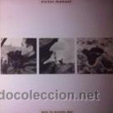Discos de vinilo: VICTOR MANUEL QUE TE PUEDO DAR (BMG-ARIOLA 1988). Lote 43051420
