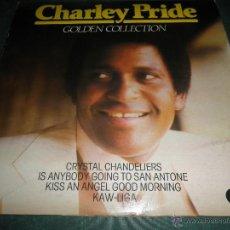 Discos de vinilo: CHARLEY PRIDE -GOLDEN COLLECTION LP - EDICION INGLESA - K-TEL RECORDS 1979 -. Lote 43055524