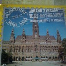 Discos de vinilo: JOHANN STRAUSS VALSES. C4V. Lote 43056288