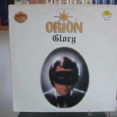 Discos de vinilo: ORION - GLORY / SUN 1025 / LP 33 RPM / COLLECTOR'S LIMITED EDITION / GOLD VINYL. Lote 43056732