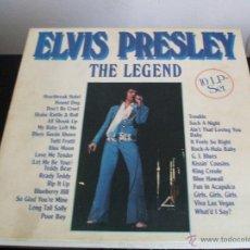 Discos de vinilo: ELVIS PRESLEY - THE LEGEND / CAJA 10 LP - ASTAN (GERMANY). Lote 43057257