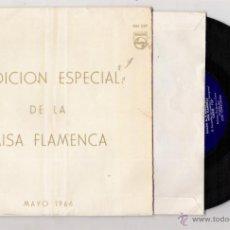 Discos de vinilo: MISA FLAMENCA-MAYO DE 1966. Lote 43062390