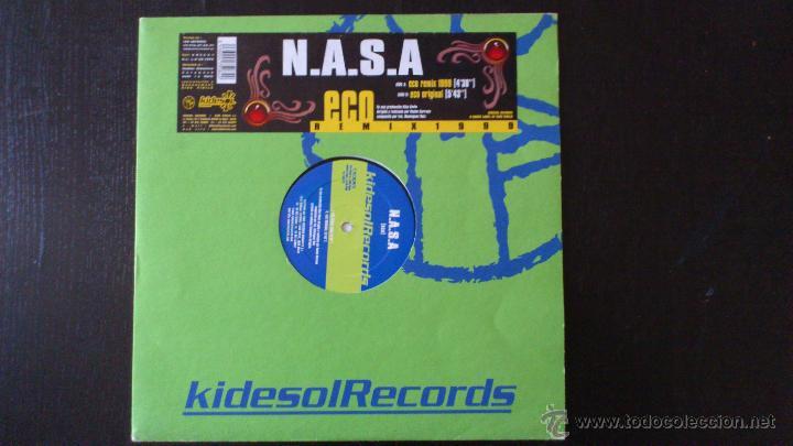 N.A.S.A - ECO REMIX 1999 - VINILO - KIDESOL RECORDS - KIKO VINILO - 1999 (Música - Discos de Vinilo - EPs - Techno, Trance y House)