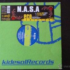 Discos de vinilo: N.A.S.A - ECO REMIX 1999 - VINILO - KIDESOL RECORDS - KIKO VINILO - 1999. Lote 43063000