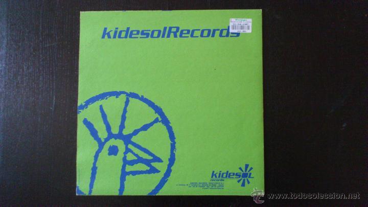 Discos de vinilo: N.A.S.A - ECO REMIX 1999 - VINILO - KIDESOL RECORDS - KIKO VINILO - 1999 - Foto 3 - 43063000