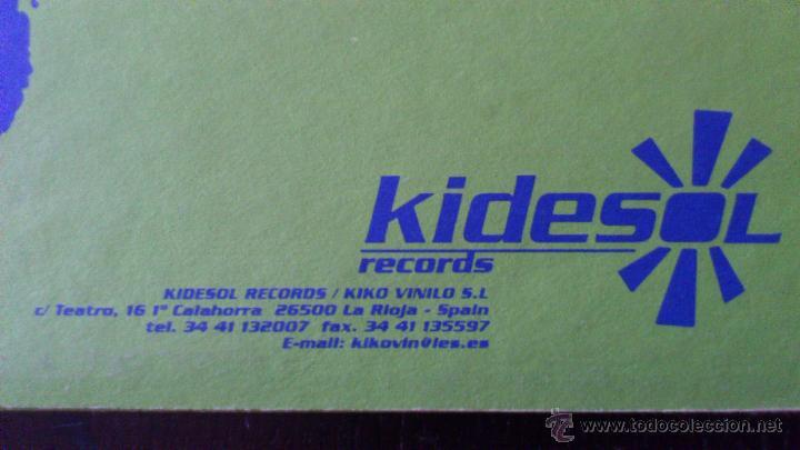 Discos de vinilo: N.A.S.A - ECO REMIX 1999 - VINILO - KIDESOL RECORDS - KIKO VINILO - 1999 - Foto 4 - 43063000