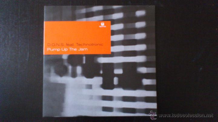 D.O.N.S. FEAT TECHNOTRONIC - PUMP UP THE JAM - VINILO 12 - TANGA RECORDS - 2005 (Música - Discos de Vinilo - Maxi Singles - Techno, Trance y House)