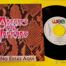 Discos de vinilo: ANGELES DEL INFIERNO (SI TU NO ESTAS AQUI) ***SINGLE PROMOCIONAL*** (NUEVO A ESTRENAR). Lote 43068717