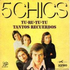 Discos de vinilo: 5 CHICS, SG, TU-RU-TU-TU + 1, AÑO 1972. Lote 43071365