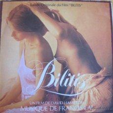 Discos de vinilo: LP - BILITIS - MUSICA DE FRANCIS LAI (SPAIN, EPIC RECORDS 1980). Lote 43073580