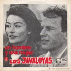 Discos de vinilo: JAVALOYAS, SG, UN HOMBRE Y UNA MUJER + 1, AÑO 1967. Lote 43073890