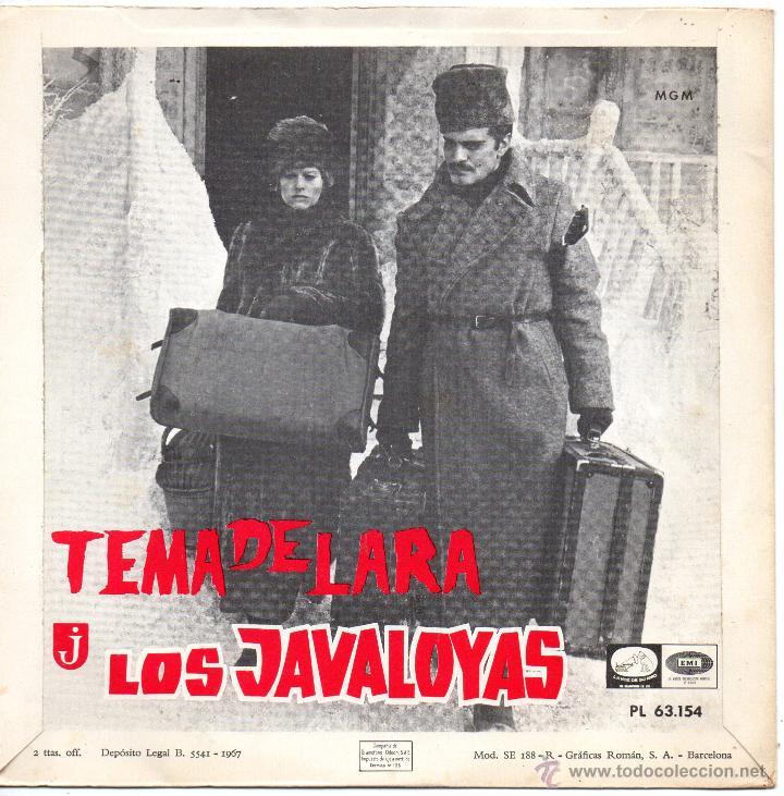 Discos de vinilo: JAVALOYAS, SG, UN HOMBRE Y UNA MUJER + 1, AÑO 1967 - Foto 2 - 43073890