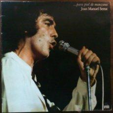 Discos de vinilo: JOAN MANUEL SERRAT, ...PARA PIEL DE MANZANA LP. Lote 43076883