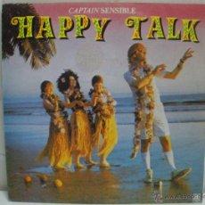 Discos de vinilo: CAPTAIN SENSIBLE - HAPPY TALK -1982 ESPAÑA EPIC A&M. Lote 43078176
